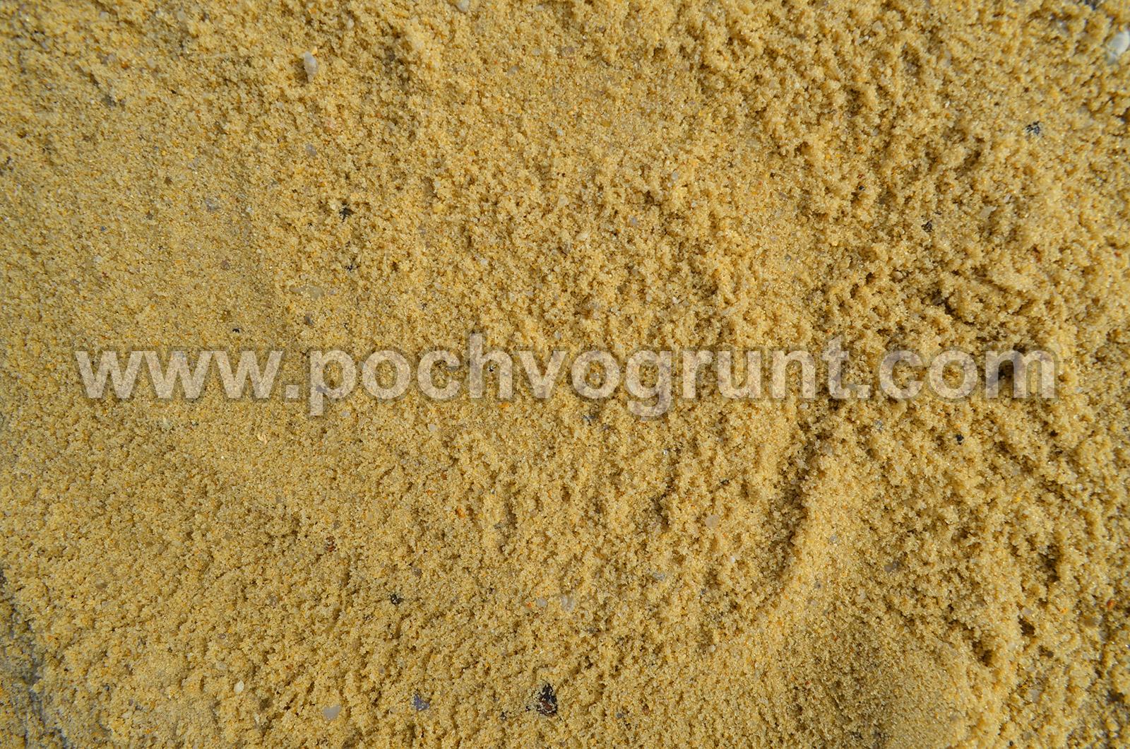 Доставка карьерный песок в Чехове и Чеховском районе