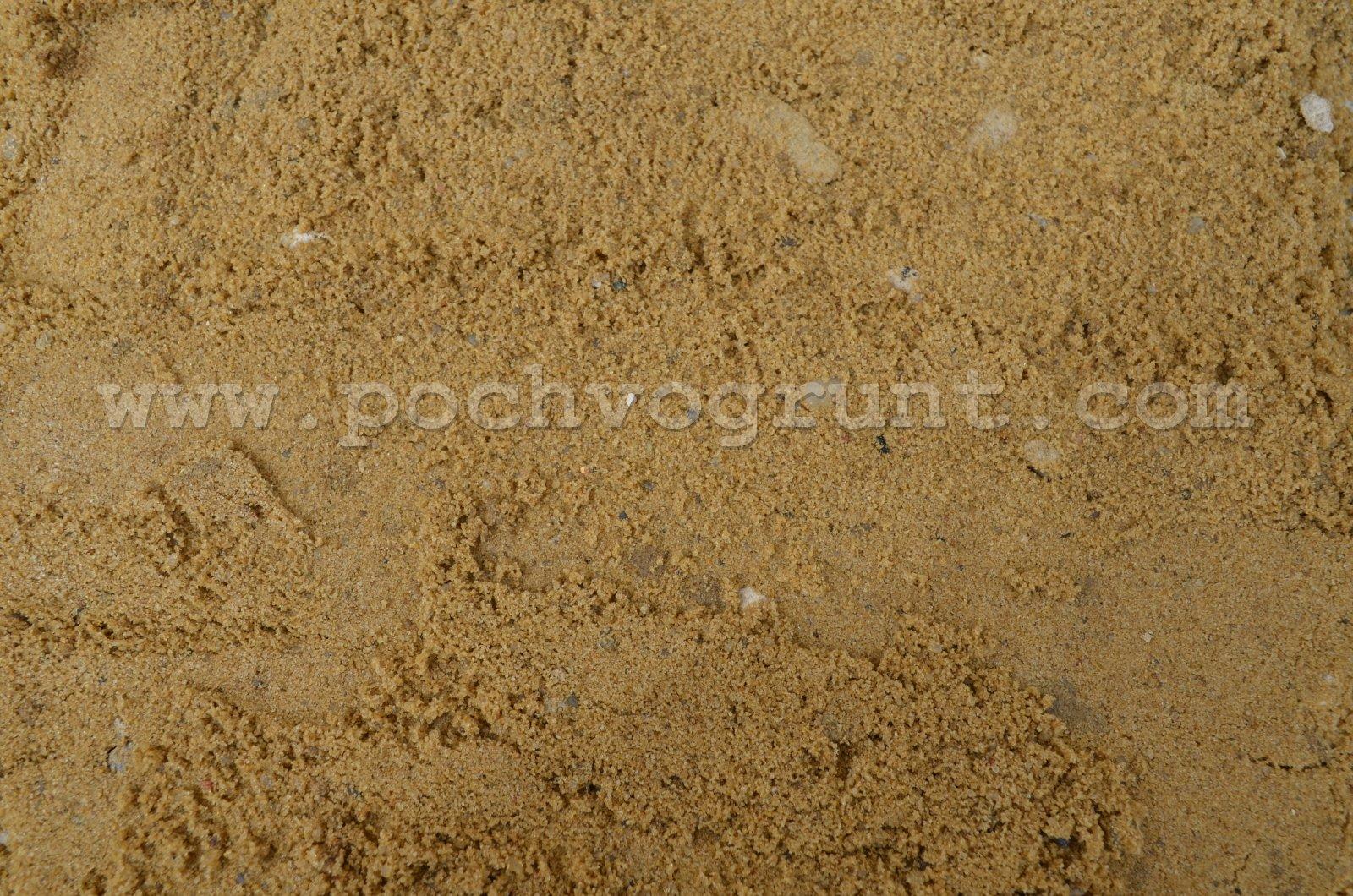 Карьерный песок в Чехове и Чеховском районе